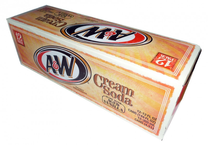 A&W Cream Soda(355ml) image