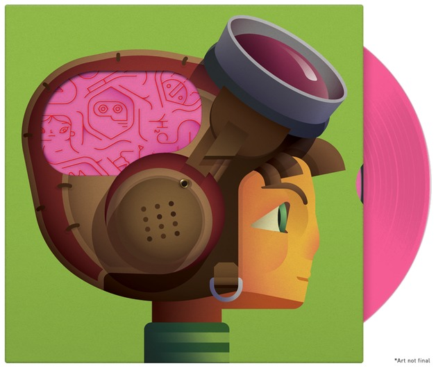 Psychonauts Soundtrack (LP + PC Game) by Peter McConnell