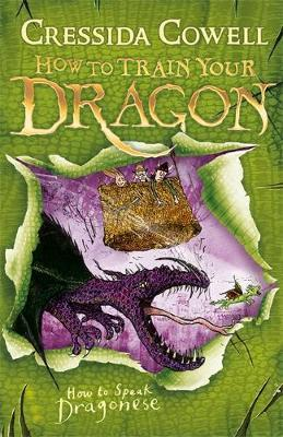 How to Speak Dragonese: Book 3 by Cressida Cowell image