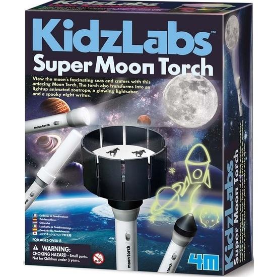 4M: Kidzlabs Super Moon Torch