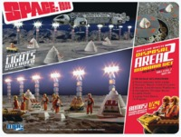 Space: 1999 - Nuclear Waste Area 2 & Moon Buddy - Model Kit