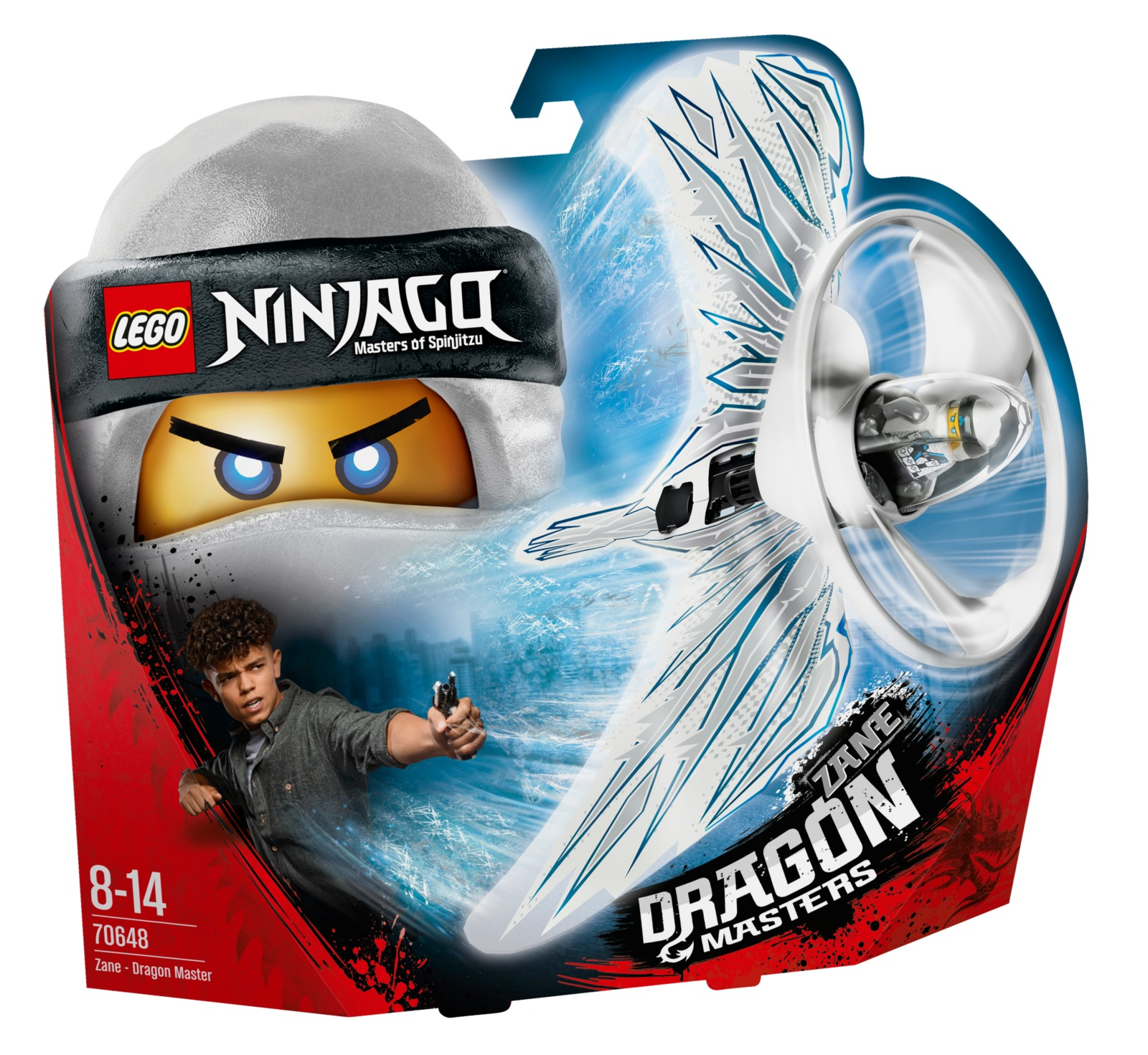 LEGO Ninjago - Zane Dragon Master (70648) image