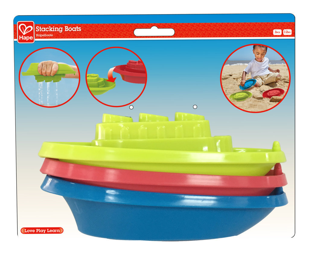 Hape: Beach & Bath - Boat Set image