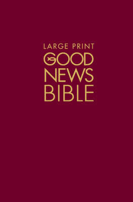 Good News Bible (GNB): Large type edition image