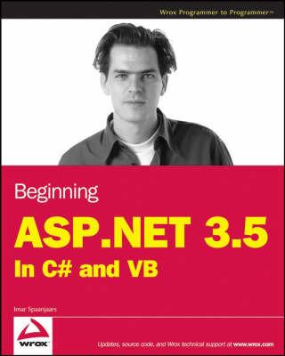 Beginning ASP.NET 3.5 by Imar Spaanjaars