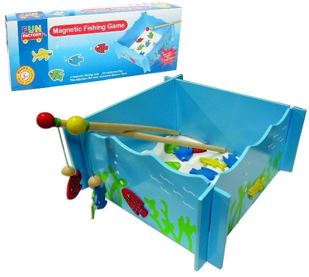 Fun Factory - Fishing Game w/4 Rods