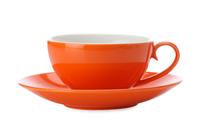 Maxwell & Williams Colour Basics Cup & Saucer - Orange (200ml)