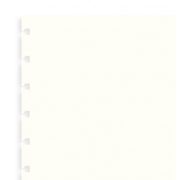 Filofax - A5 Plain Notebook Refill - White (32 Sheet)