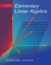 Elementary Linear Algebra by Howard Anton image