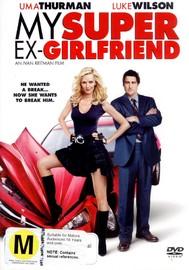 My Super Ex-Girlfriend on DVD image
