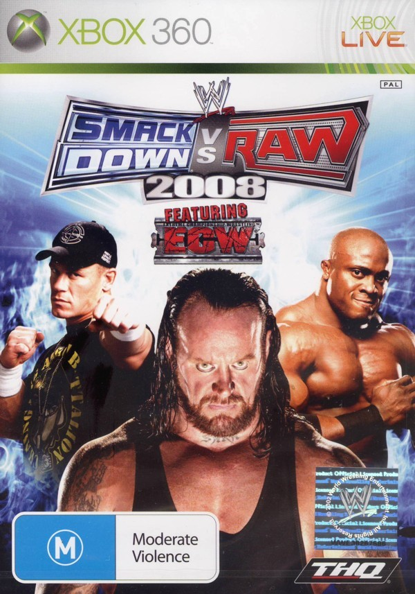 WWE SmackDown! vs. RAW 2008 (Classic) for Xbox 360 image