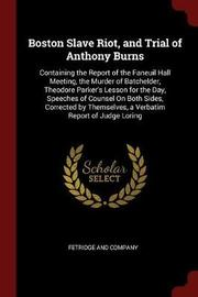 Boston Slave Riot, and Trial of Anthony Burns image