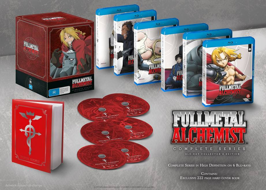Fullmetal Alchemist (2003) - Complete Series Collector's Edition on Blu-ray image