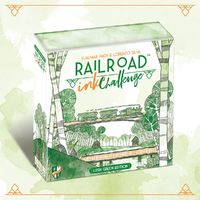 Railroad: Ink Challenge Lush - Lush Green Edition