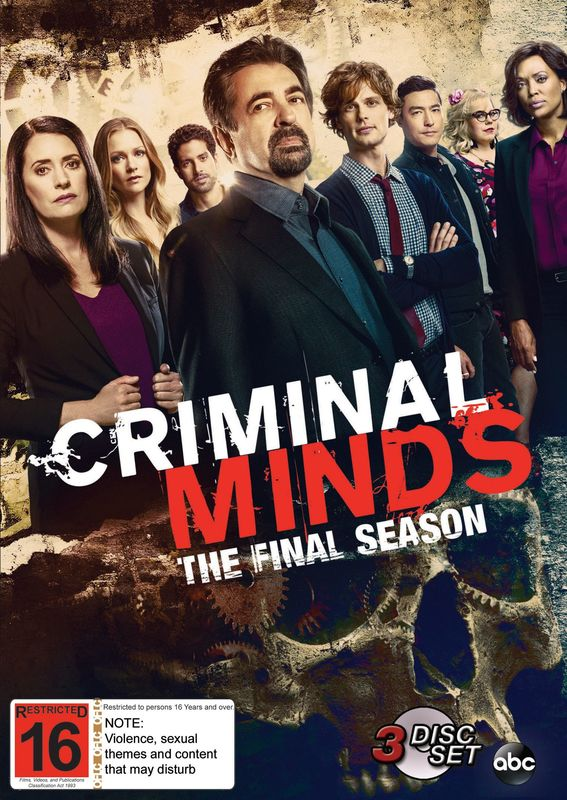 Criminal Minds: The Complete Fifteenth Season on DVD