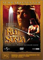 Red Sonja on DVD