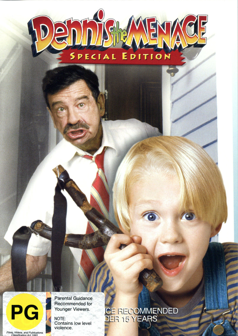Dennis The Menace - 10th Anniversary Special Edition on DVD image