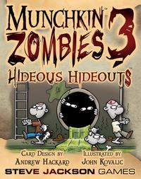 Munchkin Zombies 3 - Hideous Hideouts Expansion
