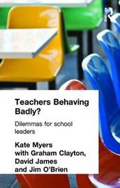 Teachers Behaving Badly? image