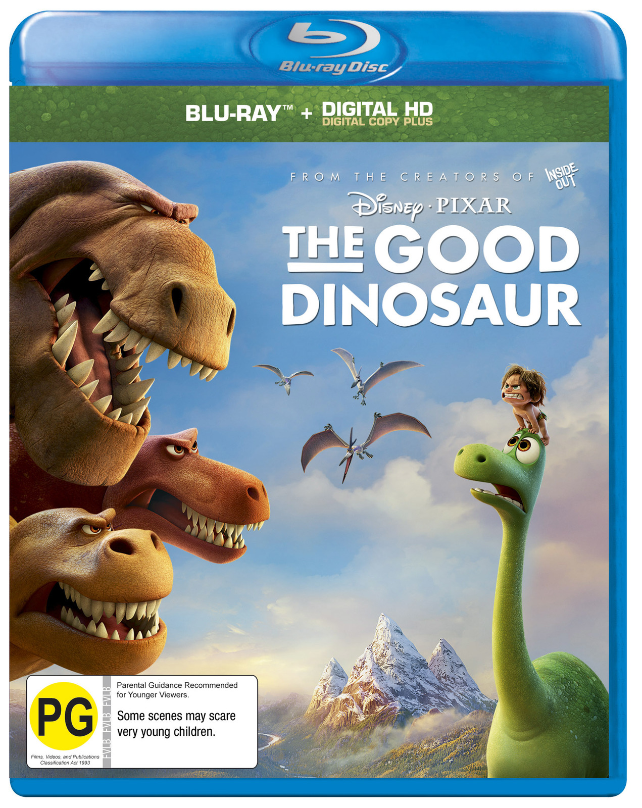 The Good Dinosaur on Blu-ray image