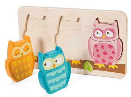 Petilou - Chouette Owl Puzzle image