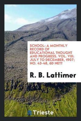 School by R B Lattimer