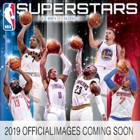 NBA Superstars 2019 Square Wall Calendar