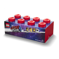 LEGO Movie 2: Storage Brick Drawer 8 (Bright Red)