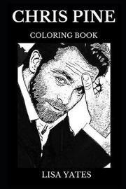 Chris Pine Coloring Book by Lisa Yates image