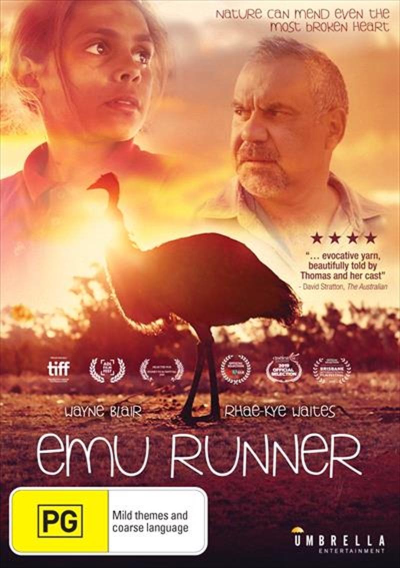 Emu Runner on DVD image