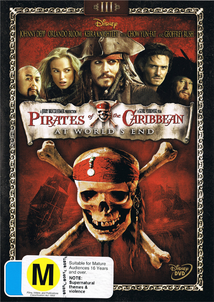 Pirates of the Caribbean - At World's End on DVD image
