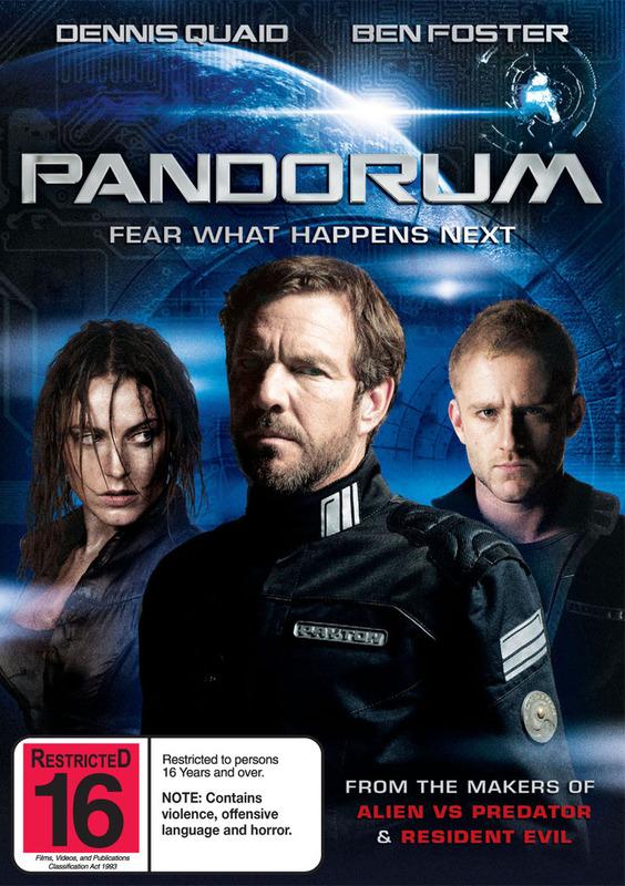 Pandorum on DVD