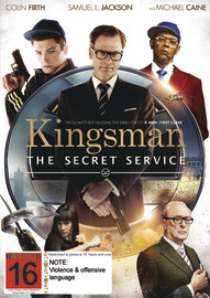 Kingsman: The Secret Service DVD