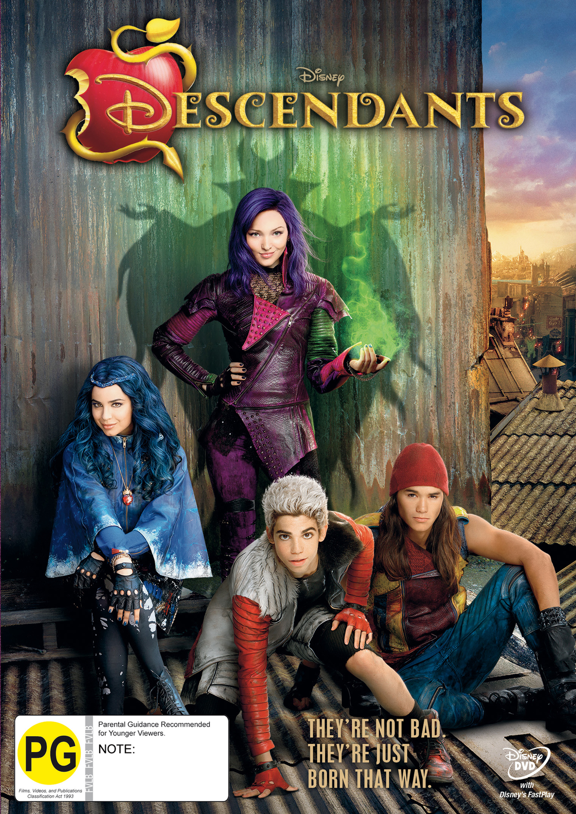 Descendants on DVD image