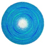 Annabel Trends: Fiesta Placemat - Turquoise