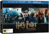 Harry Potter: Hogwarts Collection Box Set on DVD, Blu-ray, UV