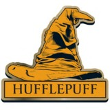 Harry Potter Hufflepuff Sorting Hat Badge
