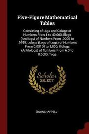 Five-Figure Mathematical Tables by Edwin Chappell image