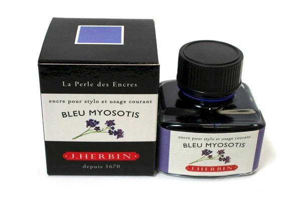 J Herbin: Fountain Pen Ink - Bleu Myosotis (30ml)