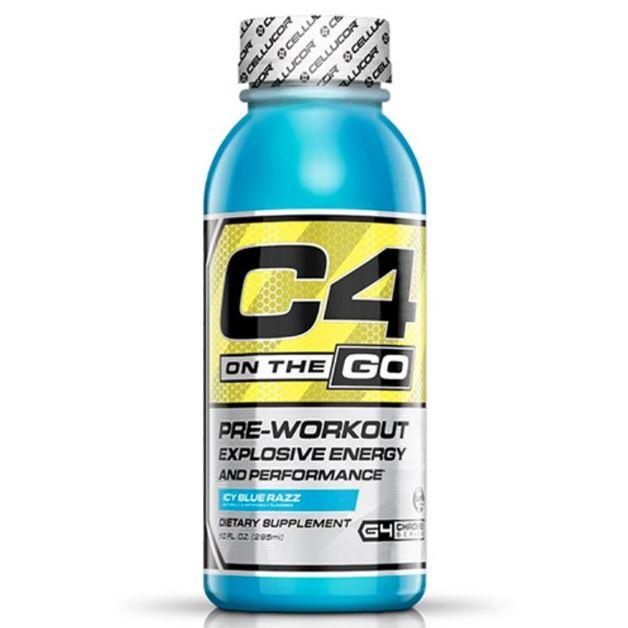 Cellucor: C4 On-The-Go RTD - Blue Razz (346ml)