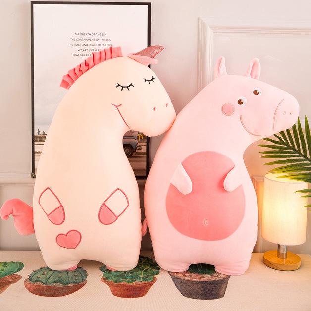Smiley Pink Piggy Plush