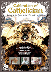 Celebration Of Catholicism - History Of The Popes In The 20th And 21st Century (DVD And CD) on DVD