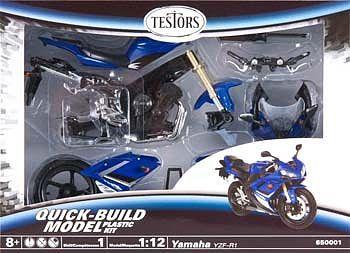 Testors Yamaha YZF-R1 1/12 Model Kit image