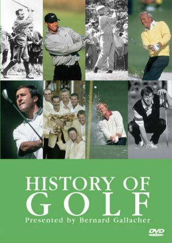 History of Golf on DVD