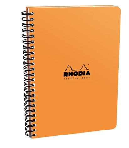 Rhodia Classic Meeting Book A5 - Orange