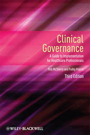 Clinical Governance by Robert McSherry