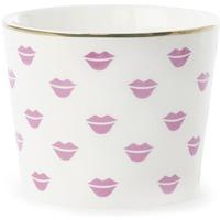 Miss Etoile: Ceramic Latte Mug - Pink Lips