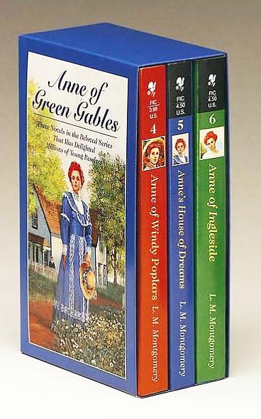 Anne of Green Gables Box Set, Volume II (Books 4 to 6) by Lucy Maud Montgomery image