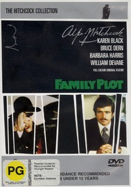 Family Plot on DVD