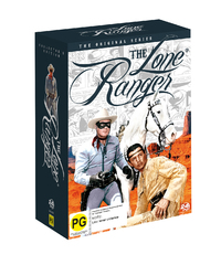 Lone Ranger The Original Series Collector's Edition on DVD
